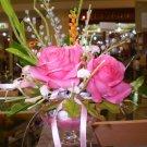 clay flower handmade