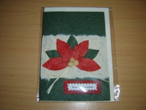Mulberry paper card2