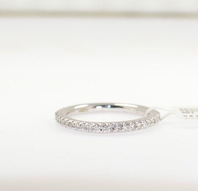 0.48ct Round Brilliant Cut Diamonds Full Eternity Wedding Ring In 9K White Gold