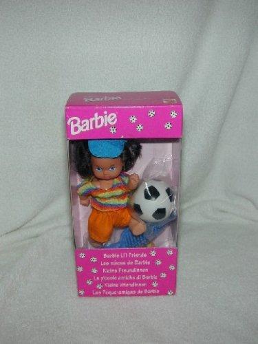 EURO EXCL Mattel BARBIE 'S Little Sis SOCCER KELLY LI'L FRIEND 1993 SHELLY NIB