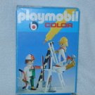 KLICKY 1978 PLAYMOBIL Pure White COLOR Set PAINTERS CONSTRUCTION Tools 3691 MIB