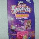 1984 SWEET SECRETS  Bathtub BEAR Add-On Charm Necklace Ice Cream Soda # 4630 MOC