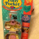1993 BLUEBIRD Polly Pocket DAZZLING DOG SHOW Pet Parade #11964 Furry Puppy MOC