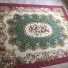 "10'9"" x 13'   Hand Woven Aubusson China Wool Oriental Rug, Hand Washed"