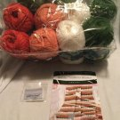 "HERRSCHNERS HTF Crochet ""HOLIDAY TRADITIONS BLANKET"" Kit DISCONTINUED Rare Find"