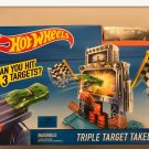 CHRISTMAS Hot Wheels Triple Target Takedown Track Set Brand New Factory Sealed