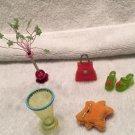 RETIRED American Girl Illumna Room FUNKY LITTLE THINGS SET mini FUN EXTRAS  lot
