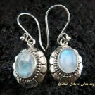Sterling Silver Rainbow Moonstone Earrings ER-438-IKP
