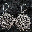 925 Silver Bali Filigree Style Earrings SE-139-KT