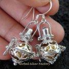 925 Silver 12mm Harmony Ball Earrings CBE-145-KT