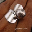 Sterling Silver Chime Ball Ring CH-278-KT