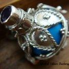 925 Silver Amethyst & Blue Harmony Ball HB-257-KT