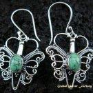 925 Silver Turquoise Butterfly Earrings ER-435-IKP