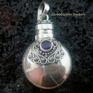 925 Silver Amethyst Cremation Pendant PP-332-KT
