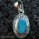 Sterling Silver & Opal Designer Pendant SP-441-KT