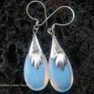 925 Silver Opalite Moonstone Teardrop Earrings SJ-110-KT