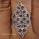 Sterling Silver Bali Filigree Women Ring SR-125-KT