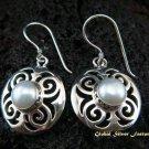 925 Silver & Pearl Gemstone Earrings ER-444-NY