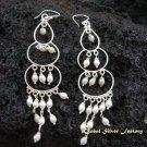 925 Silver Pearl Bead Earrings ER-159-KT