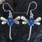 925 Silver Lapis Lazuli Dragonfly Earrings ER-333-KA
