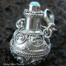 925 Silver Larimar Perfume Pendant PP-222-KT
