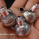 Wholesale 925 Silver Mixed Gems Cremation Pendant SSB-259-GSF