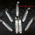 7 x Wholesale Silver & Cremation Pendants SSB-295-GSF