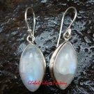 Sterling Silver Rainbow Moonstone Earrings ER-631-KT