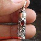 925 Silver Cremation / Keepsake Pendant Garnet ( small )PP -367-KT