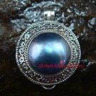 New Model Sterling Silver Fresh Water Pearl Keepsake Locket Pendant LP-210-KA