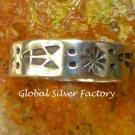 Sterling Silver Symbol Ring SR-206-KA