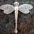925 Silver Dragonfly Brooch Pendant BC-137-KT