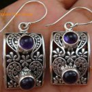 Delicate Amethyst Sterling Silver Earrings ER-590-KT