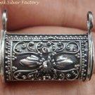 Sterling Silver Bali Locket / Prayer Box Pendant LP-215-KT