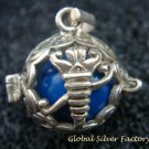 16mm Sterling Silver & Scorpion Harmony Ball Pregnancy Pendant HB-381-KT