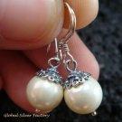 Sterling Silver Freshwater Pearl Drop Earrings ER-556-KT