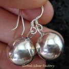 925 Silver Smooth Chime Ball Earrings CBE-148-KT