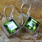 Sterling Silver and Peridot Gemstone Earrings ER-792-KT