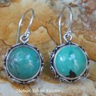 Sterling Silver and Turquoise Gemstone Earrings ER-804-KT