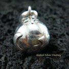 925 Silver Star & Moon Chime Ball Pendant CH-101-KT