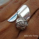 Sterling Silver Chime Ball Ring CH-277-KT