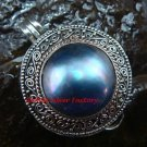 New Model Sterling Silver Fresh Water Pearl Keepsake Locket Pendant LP-210-KA