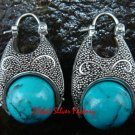 Sterling Silver Turquoise Earrings ER-633-KT