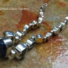 Sterling Silver and Mixed Gemstone Bracelet SBB-475-PS