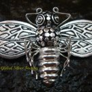 Sterling Silver Bumble Bee Pin Pendant BC-166-KT