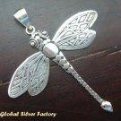 Sterling Silver Dragonfly Pendant SSP-105-KA