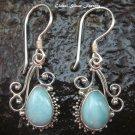Sterling Silver Larimar Earrings ER-563-NY