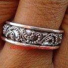 Sterling Silver Stackable Ring in Bali Filigree Design SR-151-KT