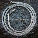 20inch Sterling Silver 2.5mm Dragon Bone Chain SCC-150-KA