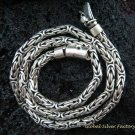 Sterling Silver 19.5 Inch and 5MM Borobudur Necklace SCC-148-PS